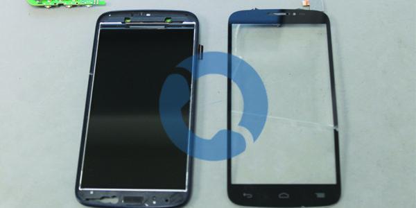 Alcatel OneTouch POP C7 Ecrã tátil danificado