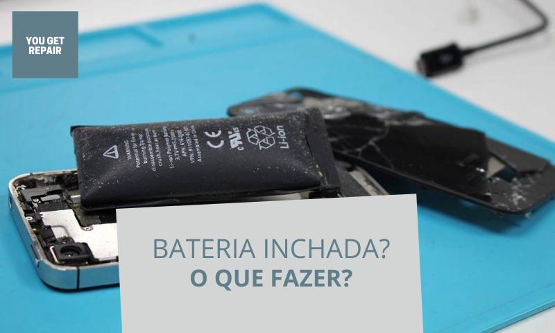 bateria inchada