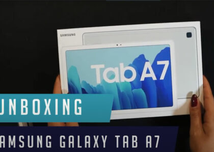 Tab A7 Unboxing