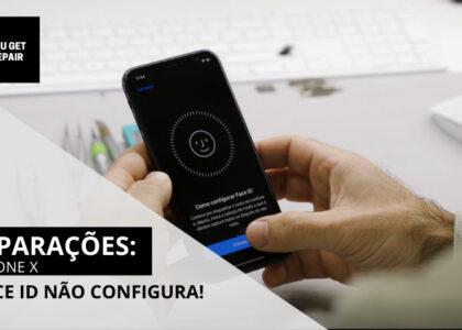Reparações: Face ID iPhone X