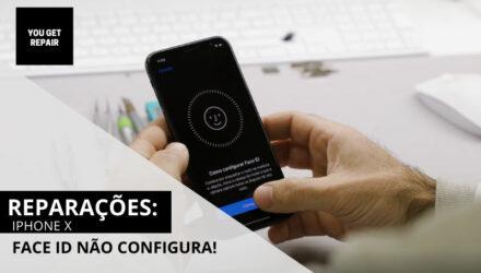 iPhone X – Reparação do sensor de Face ID
