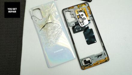 Samsung Galaxy A71 – Reparação (Capa Traseira e Câmaras)