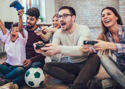 Videojogos durante o confinamento