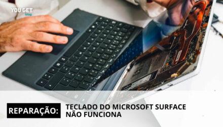 Reparação: Teclado do Microsoft Surface não funciona