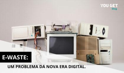 E-waste: um problema derivado da nova era digital.