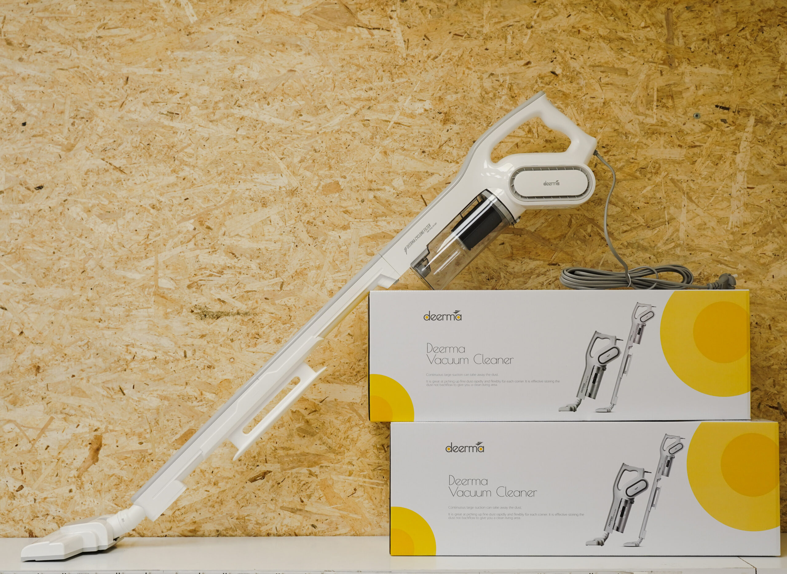 Aspirador Vertical Xiaomi Deerma DX700 Handheld Vacuum Cleaner 2-Em-1