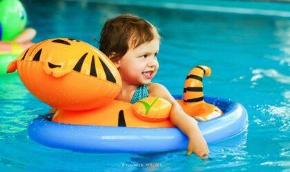 Cuidados a ter com crianças na piscina